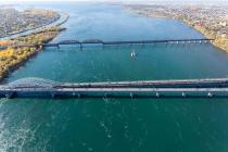 Le pont Honoré-Mercier est une des nombreuses infrastructures dont la reconstruction est en planification au cours des prochaines années.