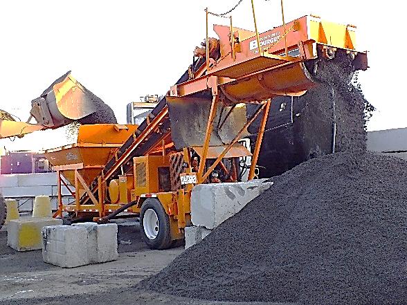 Humidification des réserves d'abrasifs