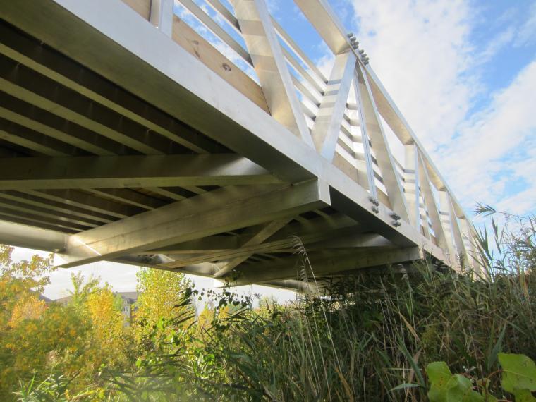 Tablier de pont en alluminium
