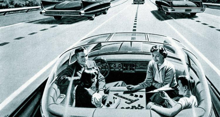 Figure 1 : Véhicule autonome en 1956