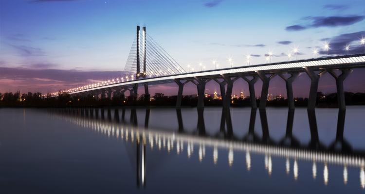 Nouveau pont sur le Saint-Laurent