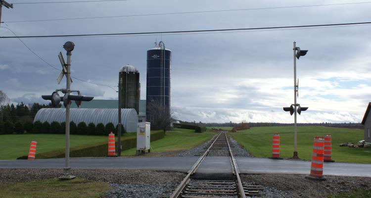 Chemin de fer Québec Central (CFQC) - Vallée St-Isidore